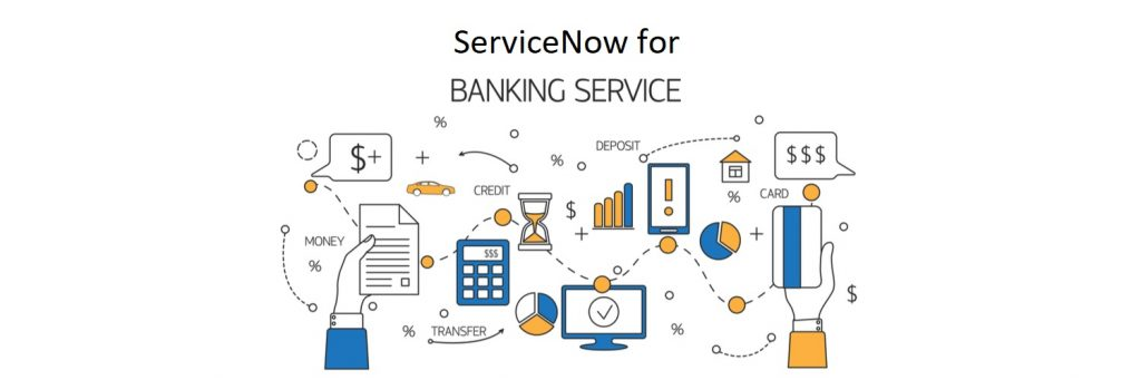 ServiceNow for banking services
